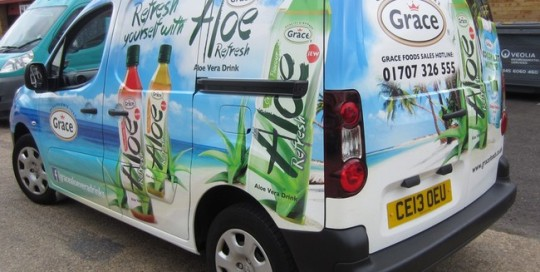 Van wrapping london