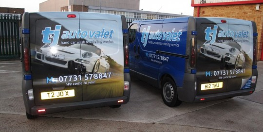van wrapping essex