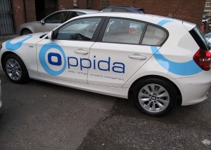 estate agent car graphics