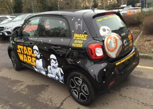 star wars car