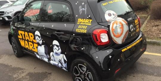star wars car