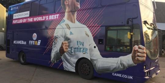 fifa bus wrap