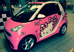 hello kitty smartcar