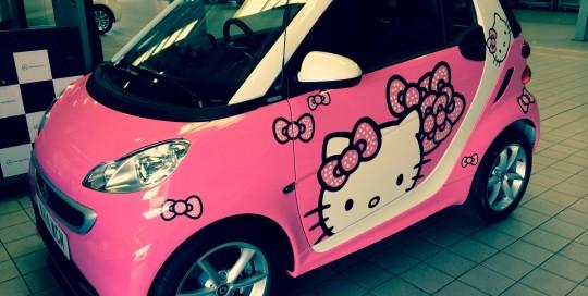 hello kitty smartcar