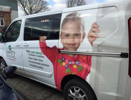 Safety Van Wrap