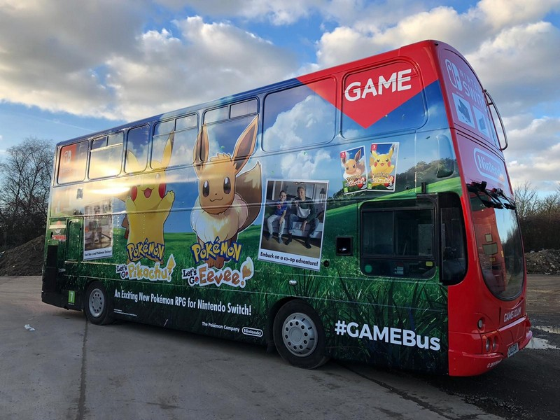double decker bus wrap